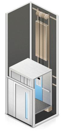 Лифт пассажирский гидравлический в частный дом