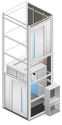 Электрический лифт в коттедж